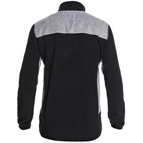 Quiksilver Aker Fleece-top med halv lynlås Herrer, sort